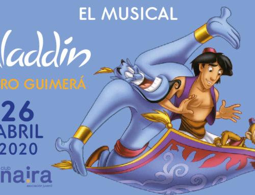 Letras de las canciones del Musical Aladdin
